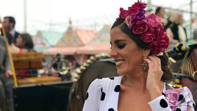 Anabel Pantoja celebra su particular Feria de Sevilla