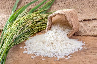 Las calorías del arroz crudo