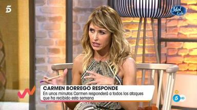 Emma García enfado monumental con Carmen Borrego