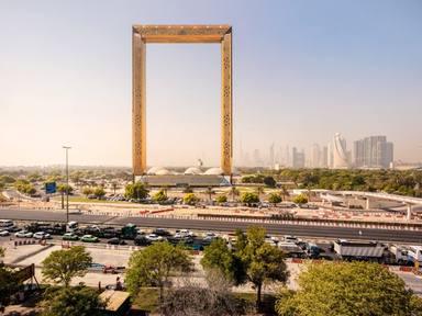 El marc de fotos més gran del món es troba a Dubai