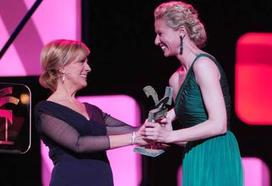Anne Igartiburu ha recibido numeroso premios por su carrera profesional
