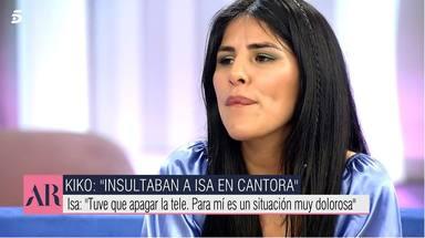 Isa Pantoja reacciona entre lágrimas a la entrevista de Kiko Rivera