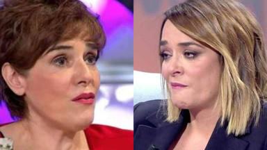 "Toñi Moreno, desolada ante el trágico episodio familiar desvelado por Anabel Alonso: ""No he sido capaz"""