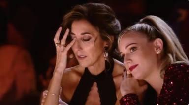 Paz Padilla y Edurne protagonizan uno de los momentos más emotivos de la historia de 'Got Talent': desgarrador