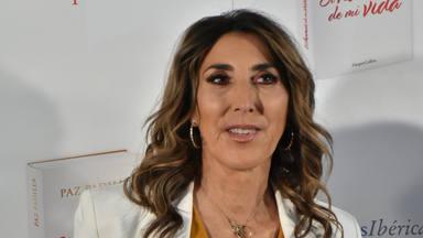 Paz Padilla durante la presentación de su libro, 'El humor de mi vida', en Madrid