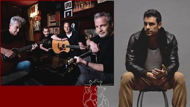 Lo inminente de Hombres G es junto a Carlos Rivera con el lanzamiento de 'Se me sale el corazón'