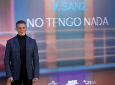 """Alejandro Sanz presenta """"No tengo nada"""", 4 conciertos y anuncia su álbum """"El Disco"""""""