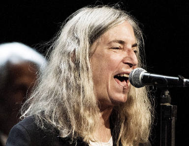 #PattiSmith por Dylan en la ceremonia Nobel