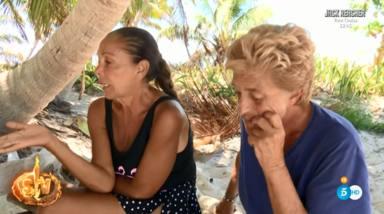 Isabel Pantoja y Chelo García Cortés en 'Supervivientes 2019'