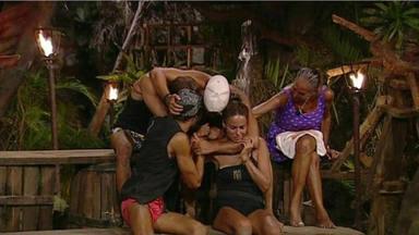 Los 'Supervivientes' se derrumban y se funden en un emotivo abrazo