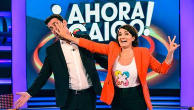 Arturo Valls y Silvia Abril en 'Ahora caigo'