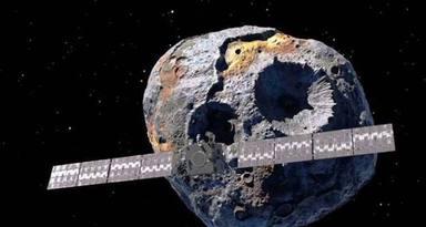 Trobat un asteroide que ens podria fer rics a tots