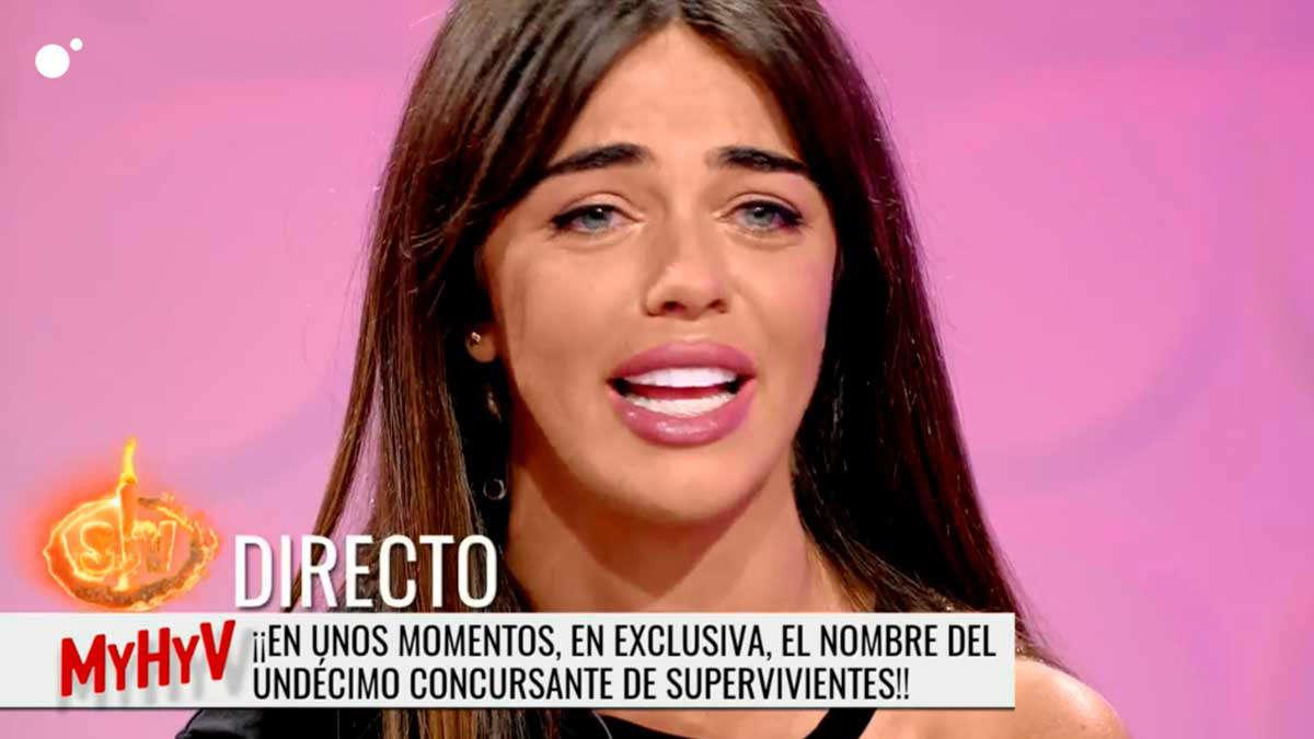El drama de Violeta Mangriñán tras su sueño truncado de ir a 'Supervivientes'
