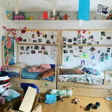 El caos en la casa de Tania Llasera durante el confinamiento