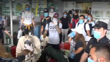 'Supervivientes': llegan a Madrid con un ataque de ansiedad