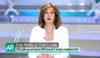 Ana Rosa Quintana confiesa su peso