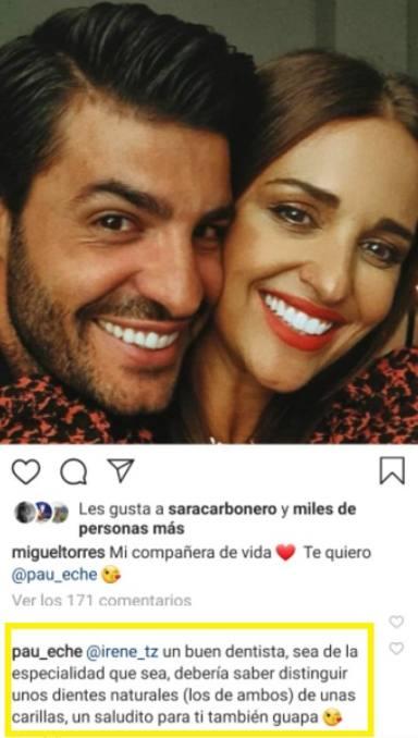 Paula Echevarría y Miguel Torres polémica