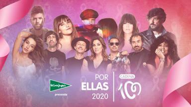 Cartel CADENA 100 POR ELLAS 2020