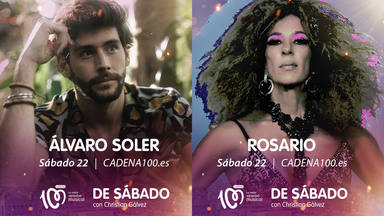 Rosario y Álvaro Soler se unen a la fiesta de 'De Sábado con Christian Gálvez'
