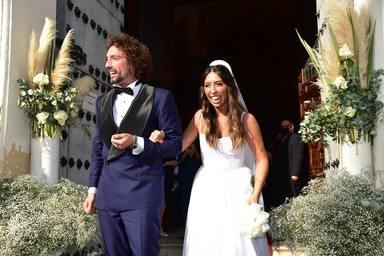 La inmensa emoción de Paz Padilla y Anna Ferrer tras coger el ramo lanzado en la boda de José Antonio León