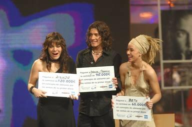 Beth quedó tercera finalista en OT 2