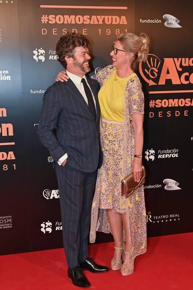 Anne Igartiburu y Pablo Heras Casado