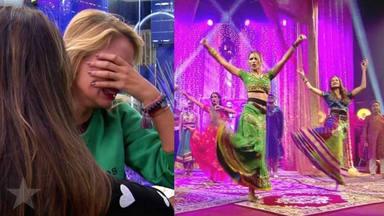Lo nunca visto: Alba Carrillo se impone contra el súper de 'GH VIP' y lo borda en el papel de bailarina