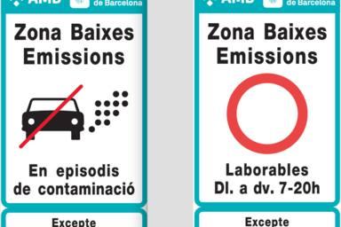 El que has de saber sobre la zona de baixes emissions de Barcelona