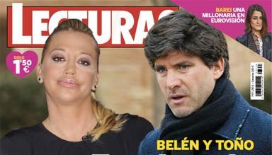 Portada de Lecturas: Belén Esteban y Toño Sanchís, ajuste de cuentas