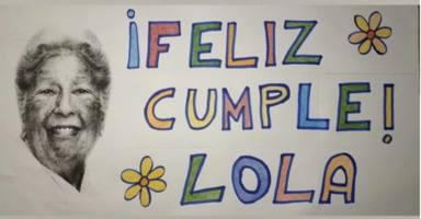 El cumpleaños de Lola de 89 años que se ha convertido en viral