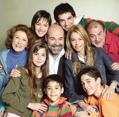 La foto con la que Natalia Sánchez ha recordado el estreno de Los Serrano hace 17 años