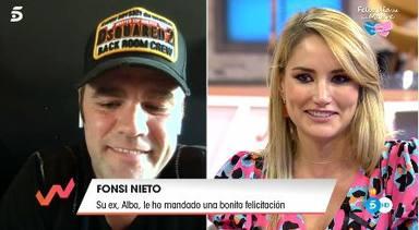 Alba Carrillo se emociona con Fonsi Nieto