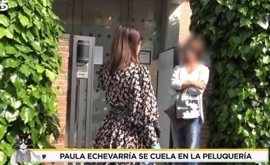 Paula Echevarría y su encontronazo en la puerta de la peluquería con una clienta