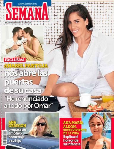 Anabel Pantoja, portada de SEMANA