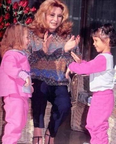 Gloria Camila y Rocío Flores, las niñas de los ojos de Rocío Jurado