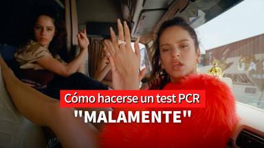 """Enfermera Saturada avisa a Rosalía tras hacerse un test PCR: """"Debería repetirla"""""""