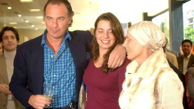 Bertin Osborne junto ex mujer Sandra Domecq