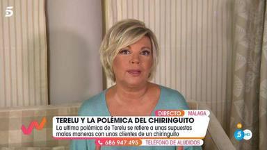 Terelu Campos se defiende de su última polémica por echar, presuntamente, a unos comensales de un restaurante