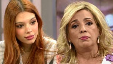 La gran preocupación de Alejandra Rubio tras enterarse del fichaje de su tía Carmen Borrego por 'Sálvame'