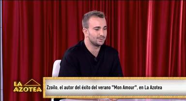 Zzolio, invitado al primer programa de 'La azotea' de 13TV, presentado por Antonio Hueso y María Ruiz
