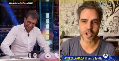 Ernesto Sevilla confiesa en 'El Hormiguero' lo vergonzoso que fue su primer amor