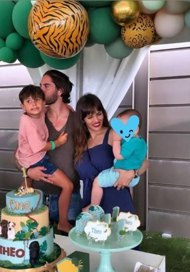 Primer cumpleaños de Theo, el hijo de Sara Sálamo e Isco Alarcón