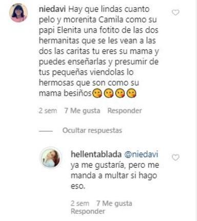 El comentario más repetido entre los seguidores de Elena Tablada