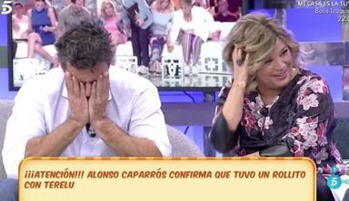 Terelu Campos y Alonso Caparrós tuvieron un idilio