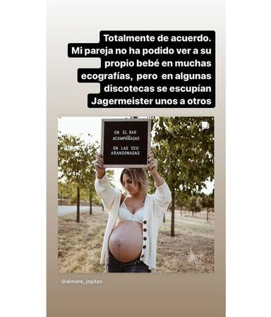 Sara Sálamo Isco Alarcón denuncia bar ecografías