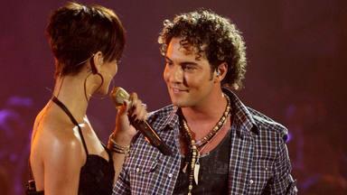 David Bisbal (2) y Rihanna
