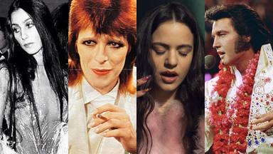 Cher, Bowie, Rosalía y Elvis