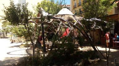'Esta es una plaza', un escondite de aire fresco en el centro de Madrid