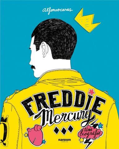 El libro sobre Freddie Mercury hecho por un ilustrador