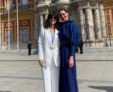 Eva González y Vanesa Martín en el Día de Andalucía